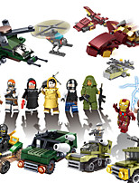 cheap -Building Blocks 40 pcs Military compatible Legoing Simulation Military Vehicle All Toy Gift / Kid's