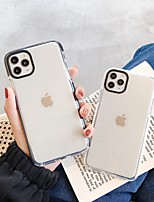 cheap -Case For Apple iPhone 11 / iPhone 11 Pro / iPhone 11 Pro Max Shockproof / Dustproof / Transparent Back Cover Transparent PC