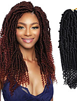 cheap -Mineral Crochet Hair Braids Natural Color Synthetic Hair Braids 18 inch Braiding Hair 6-Pack