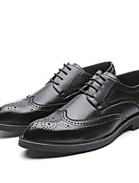 cheap -Men's Comfort Shoes PU Fall & Winter Oxfords Black / Yellow
