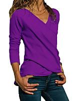 abordables -Tee-shirt Femme, Couleur Pleine Noir