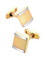 cheap -Cufflinks Dresswear Fashion Brooch Jewelry Golden For Gift Daily