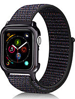 abordables -Bracelet de montre pour Apple Watch Series 5 / Apple Watch Series 4 Bracelet sport en nylon avec bracelet Apple