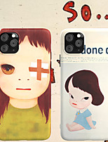 cheap -Case For Apple iPhone 11 / iPhone 11 Pro / iPhone 11 Pro Max Shockproof / Ultra-thin / Frosted Back Cover Cartoon PC