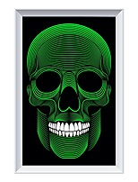 cheap -Modern Human Skull Mural Lamp Individual Decorative Arts background Wall ZM1718-1010