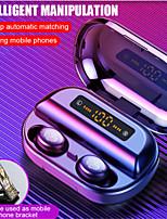 cheap -V11 TWS 5.0 Bluetooth Headphones 9D Stereo Wireless Earphones IPX7 Waterproof Headset Sport Earburd With 2400mAh Case Power Bank