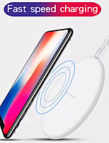 cheap -10 W Wireless Charger USB Charger USB Wireless Charger Not Supported 1 A / 1.1 A DC 9V / DC 5V for iPhone X / iPhone 8 Plus / iPhone 8