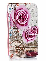 cheap -Case For Galaxy A10 A30 A40 Palace flower PU Leather with Card Slot Flip up and down For Galaxy A50 A60 A70