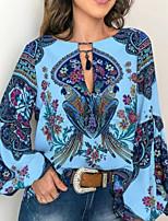 abordables -Tee-shirt Femme, Géométrique Blanche
