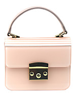 cheap -Women's Chain Acrylic Evening Bag Solid Color Black / Blushing Pink