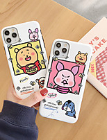 cheap -Case For Apple iPhone 11 / iPhone 11 Pro / iPhone 11 Pro Max Shockproof / IMD Back Cover Cartoon TPU