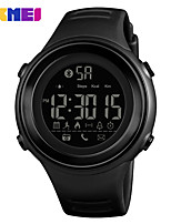 cheap -SKMEI Smartwatch Digital Modern Style Sporty Silicone 30 m Water Resistant / Waterproof Casual Watch Cool Digital Outdoor Fashion - Black Black / Silver Green