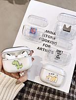 abordables -Housse pour Airpods Pro PC Motif de dessin animé Housse de protection pour casque portable (Housse de recharge Airpods non incluse)