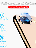 cheap -AppleScreen ProtectoriPhone 8 Plus Mirror Camera Lens Protector 1 pc Nano