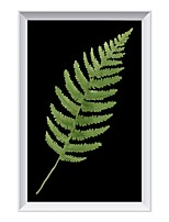 cheap -Modern Green Leaf Mural Lamp Individual Decorative Arts Background Wall ZM1718-1049