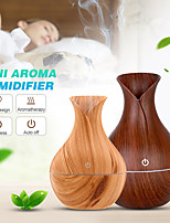 cheap -Vase Air Humidifier USB Aroma Oil Diffuser Wood crack Electric lamp Humidifier Ultrasonic Aromatherapy Mist Maker for Home