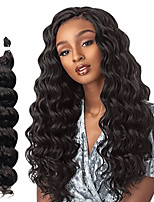 cheap -Wavy Costume Accessories Synthetic Wig Natural Color Synthetic Hair Braids 18 inch Braiding Hair 6pcs