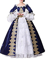 cheap -Dance Costumes Dresses Women's Performance Polyster Lace / Sashes / Ribbons Half Sleeve Dress