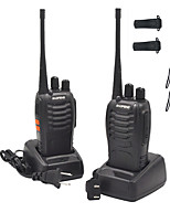cheap -2PCS Walkie Talkie Baofeng BF-888S 2800mAh 16CH UHF 400-470MHz Baofeng 888S Ham Radio HF Transceiver Amador Portable Intercoms Super Sound Quality