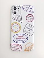 abordables -Coque Pour Apple iPhone 11 / iPhone 11 Pro / iPhone 11 Pro Max Antichoc / IMD Coque Mot / Phrase TPU