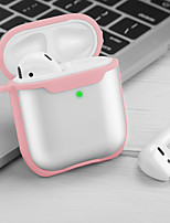 cheap -Case For AirPods Shockproof / Frosted / Transparent Headphone Case Hard