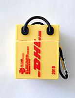 abordables -Coque Pour AirPods Antichoc / Magnétique Cas de casque Flexible