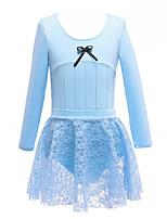 cheap -Kids' Dancewear Leotards Girls' Training / Performance POLY Split Joint Natural Leotard / Onesie