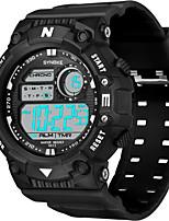 cheap -SYNOKE Digital Watch Digital Sporty Stylish Silicone 30 m Water Resistant / Waterproof Calendar / date / day LCD Digital Outdoor Fashion - Black Green Red