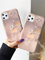 cheap -Case for Apple scene map iPhone 11 X XS XR XS Max 8 Frost flower pattern fine frosted liquid TPU material IMD process all-inclusive mobile phone case
