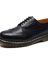 cheap -Men's Comfort Shoes Cowhide Spring & Summer Oxfords Black