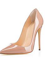 cheap -Women's Heels Stiletto Heel Pointed Toe PU Fall & Winter Almond