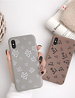 cheap -Case For Apple iPhone 11 / iPhone 11 Pro / iPhone 11 Pro Max Pattern Back Cover Word / Phrase TPU for iPhone X XS XR XS MAX 8 8PLUS 7 7PLUS 6 6PLUS 6S 6S PLUS