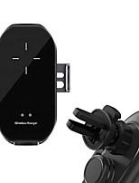 abordables -A7 vente chaude dernière capteur infrarouge clip automatique téléphone portable 10 w chargeur de voiture sans fil charge sans fil support de téléphone portable