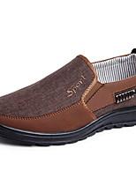 abordables -Homme Chaussures de confort Polyuréthane Hiver Mocassins et Chaussons+D6148 Gris / Café