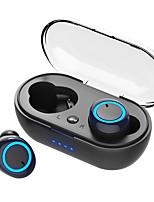 abordables -LITBest D10 Casque TWS True Wireless Sans Fil EARBUD Bluetooth 5.0 Stereo Avec boîte de recharge