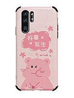 cheap -Case for Huawei scene map Huawei P30 P30 Pro P20 P20 Pro Nova 6 Nova 6SE Cartoon pattern Strong relief Silk pattern Skin Thicken TPU Texture Four corners Anti-fall All-inclusive phone case