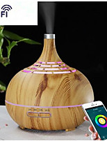 abordables -400 ml humidificateur ultrasonique humidificateur d'air app wifi contrôle brumisateur arôme diffuseur d'huile essentielle led veilleuse bureau à domicile