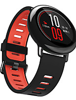cheap -Smartwatch Band for Huami Amazfit Pace / GTR 47mm / Stratos3 / Nexo / Stratos 2 /Strato Sport Band Fashion Soft comfortable Silicone Wrist Strap 22mm