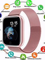 cheap -Smartwatch Digital Silicone Water Resistant / Waterproof Heart Rate Monitor Bluetooth Digital Luxury Fashion - Black Black / White Rose Gold