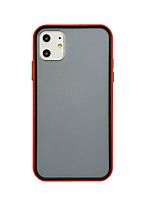 cheap -Case For Apple iPhone 11 / iPhone 11 Pro / iPhone 11 Pro Max Shockproof / Frosted Back Cover Solid Colored PC