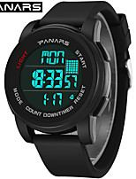 cheap -SYNOKE Digital Watch Digital Sporty Stylish Silicone 30 m Water Resistant / Waterproof Calendar / date / day LCD Digital Outdoor Fashion - Black Green Blue
