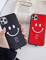 cheap -Keep Smile Will Luck Case For Apple iPhone 11 / iPhone 11 Pro / iPhone 11 Pro Max Shockproof / Dustproof / LED Flash Lighting Back Cover Word PC