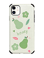 cheap -Case for Apple scene map iPhone 11 11 Pro 11 Pro Max X XS XR XS Max 8 fruit pattern Strong relief Silk pattern Skin Thicken TPU Texture Four corners Anti-fall All-inclusive phone case