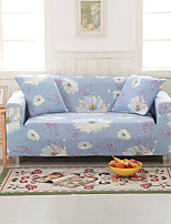 cheap -Water  Lily Print Dustproof All-powerful Slipcovers Stretch Sofa Cover Super Soft Fabric Couch Cover with One Free Pillow Case