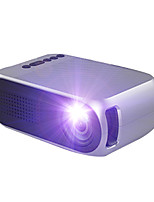 cheap -WAZA YG210 LED Mini Portable ProjectorHome Theater Cinema 600 lumen 3.5mm Audio Support 1080p HD Playback HDMI USB Projector Home Media Player