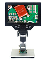 cheap -7 Inch Screen  1-1200X Digital Microscope for Soldering Electronic 500X 1000X Microscopes Continuous Amplification Magnifier