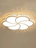 cheap -Modern 6 - Petal LED Ceiling Lamp Stylish Flower - Shaped Ceiling Lamp Bedroom Lamp