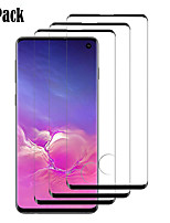 cheap -Naxtop 3D Screen Protector Samsung Galaxy S10e S10 S9 S8 Plus High Definition (HD) Front Screen Protector 3 pcs Tempered Glass