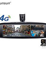 cheap -Junsun K757 2G 32GB 3-CH Car DVR ADAS 4G Android Rearview Mirror FHD 1080P Special Bracket Auto DashCam Camera