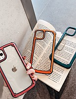 cheap -Case For Apple iPhone 11 / iPhone XS / iPhone XR Transparent Back Cover Transparent / Solid Colored TPU / PC
